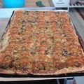 2009 05 06 Pizza campagnarde, courgettes et tomates faite à l'école
