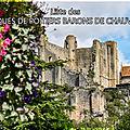 Liste des ÉVÊQUES DE POITIERS BARONS DE <b>CHAUVIGNY</b>.