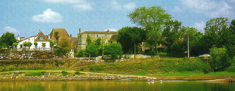 Panoramique Port du Fleix