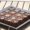 Gâteau banane & chocolat caramel