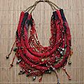 Collier rouge andalou de Chantal Bossard
