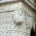 pilier église de Chambon