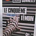 Le cinquième témoin, de michael connelly (audiolib, lu par françois tavares)
