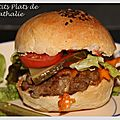 Hamburgers gourmands