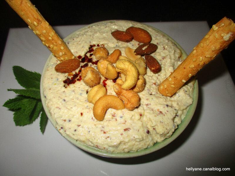 crème cajou - amandes