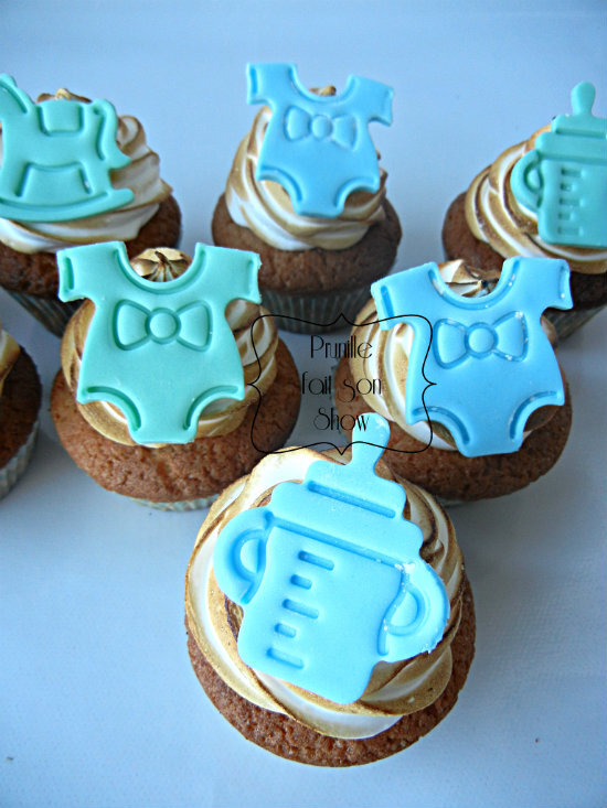 cupcakes baby shower prunillefee