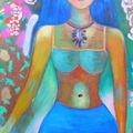 peintures abstraites et figuration libre de Marie Bruno Artiste Peintre