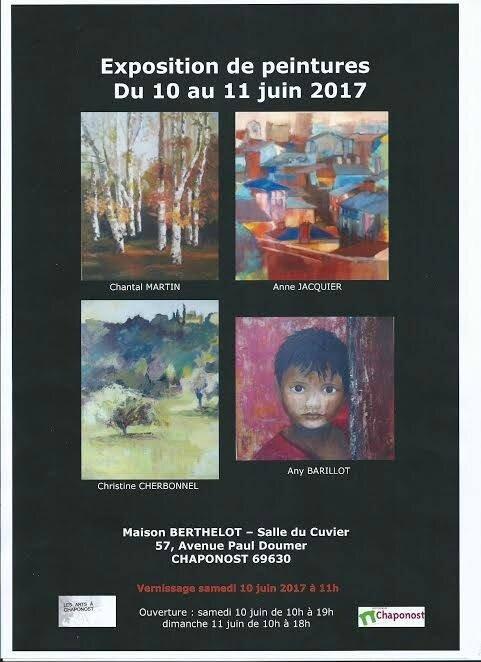 - Exposition 10 et 11 juin 2017