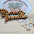 DT Scrapbookit - <b>Mini</b> album
