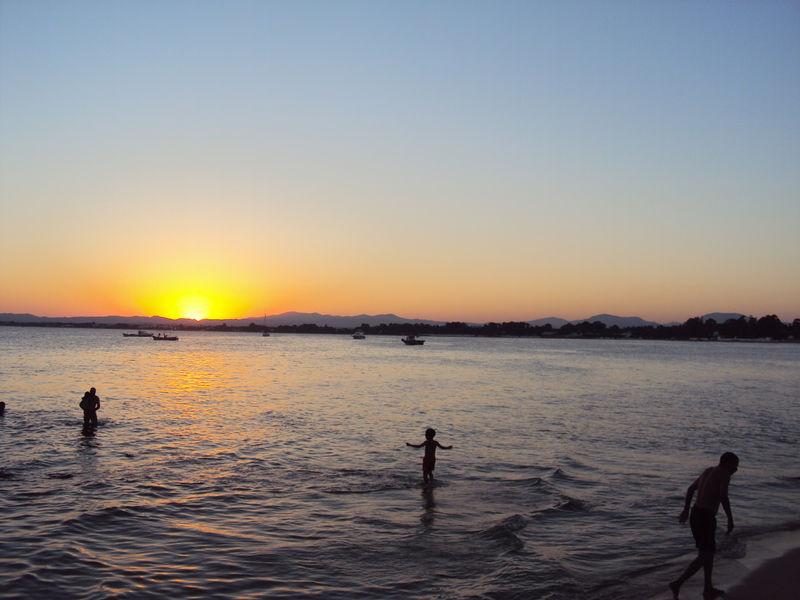Le coucher de soleil du vendredi 27 août 2010