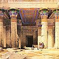 Egypte - Une croisière sur le Nil (10/19). Le temple d'Isis à Philae.