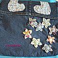 Couture: nouveau sac en jean en cours