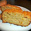 Gâteau aux agrumes et à la polenta