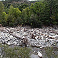 Commune : colmars les alpes cours d'eau : le verdon ( hv4-1)