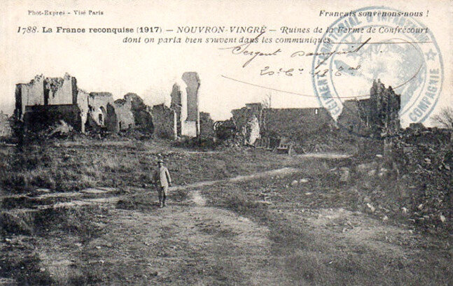 ruines ferme de Confrécourt (2)