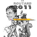 Caricature guide routard