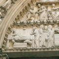 Nativité - Notre Dame de PARIS - Portail de la Vierge