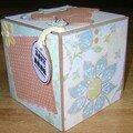 Petit cadeau de naissance -- tite boite