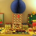 Anniversaire Lego / train {sweetable Lego: photos, matériels, ressources }