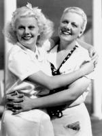 jean harlow with her mom