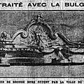 Le traité avec la <b>Bulgarie</b> - Les élections municipales de Paris - 100.600 sacs de sucre arrivent au Havre.