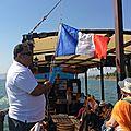 En bateau sur le lac de Tibériade