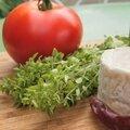 Tomates farcies au chèvre, au basilic et au miel: simplissimes!