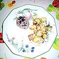 Saucisson a cuire aux trompettes de la mort et pommes de terre ratte, sans gluten, sans lait
