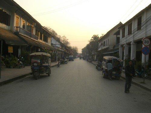 Luang Prabang, rue principale