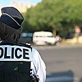 Police : Un numéro vert mis en place pour les policiers victimes d'agressions ou de <b>menaces</b>