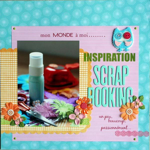 inspiration scrapbooking