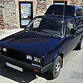 Volkswagen caddy pickup 1980-1994