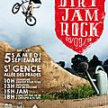 Dirt jam rock ... saint-gence le 5 septembre