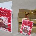 étiquettes pour cadeaux et cartes de noël ,nouvel an à imprimer