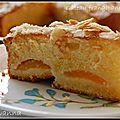 Gâteau frangipane-abricots