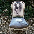 chaise nourrice impression