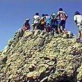 En joëlettes à la roche de tréminis 1679 m – trièves