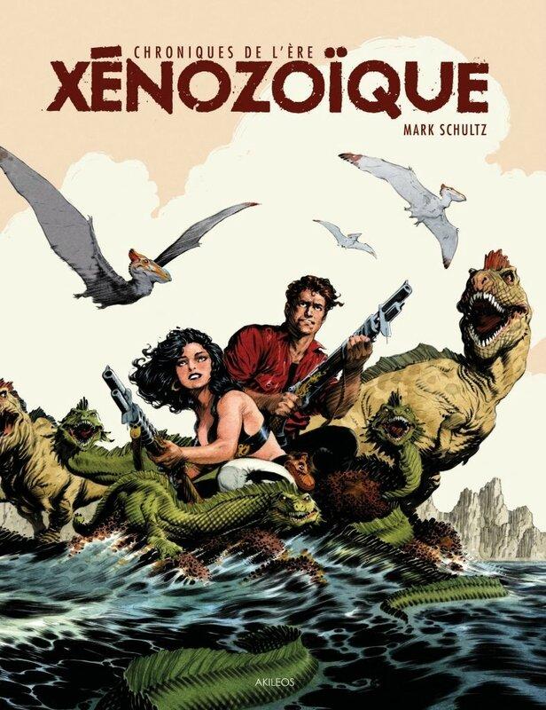 akileos chroniques de l'ère xenozoique intégrale