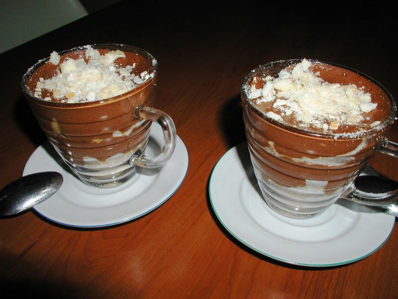 dessert choco - mrringue