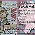Créas pour le forum magnolia et encore merci!