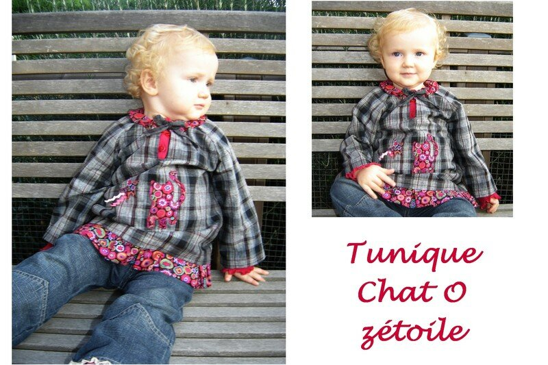 tunique Chat