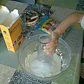 Pâte blanche auto-durcissante