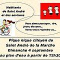 Saint-andré pique nique citoyen