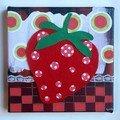 Miam...une fraise!