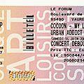<b>Cocoon</b> - Samedi 14 Juin 2008 - Le Forum (Vauréal)