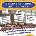 L'affiche du Traintamarre est arrivée...