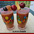 Smoothie aux fruits du soleil