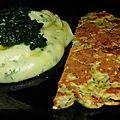 Omelette express dans son plus simple appareil