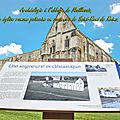 Archéologie à l'abbaye de Maillezais, une église romane poitevine en souvenirs de Saint-Remi de Reims.