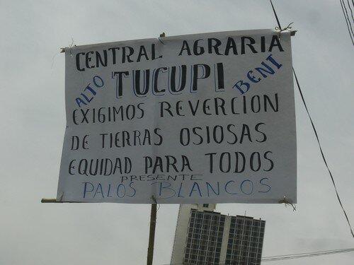 La Paz, manifestation